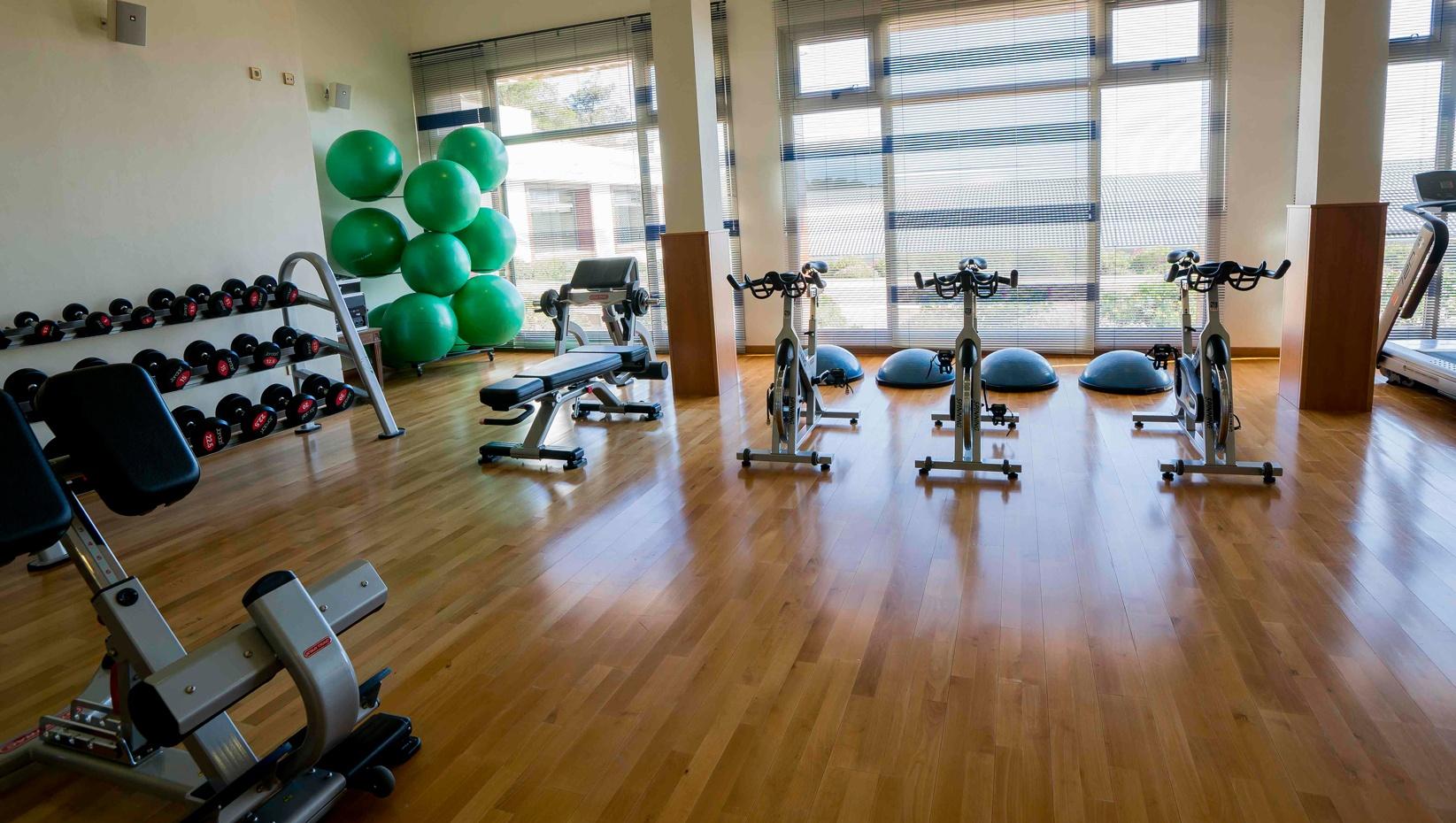 Gym at Hotel II